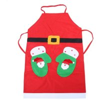 Christmas Aprons Gloves Santa Aprons Kitchen Cleaning Tool Women and Men Dinner Party Apron Kitchen Gadgets Kitchen Accessories