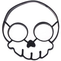Halloween Skull Non Stick Silicone Fried Egg Mold Pancake Rings Kitchen Cooking Tool Egg Omelette Mould Creative Kitchen gadgets
